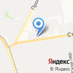 Евромет на карте Белгорода