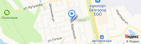 Средняя общеобразовательная школа №17 на карте Белгорода