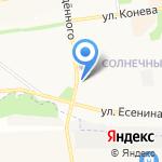 Роджер на карте Белгорода