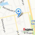Городской центр реабилитации для престарелых и инвалидов на карте Белгорода