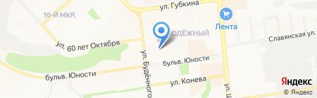 Детский сад №78 Гномик на карте Белгорода