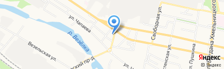 WOK & DOG на карте Белгорода