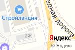 Схема проезда до компании Цветочный сад в Северном-Первом