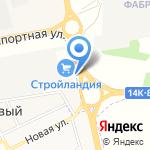 Цветочный сад на карте Белгорода