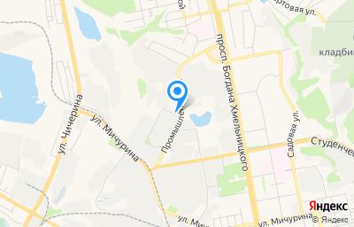 Местоположение на карте пункта техосмотра по адресу г Белгород, ул Промышленная, д 11А