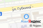 Схема проезда до компании Эксперт недвижимости в Белгороде
