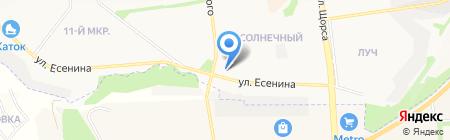 Гласс проект на карте Белгорода