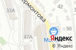 Схема проезда до компании Пена в Белгороде
