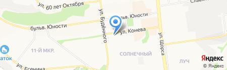 Юнити-ОПТИКА на карте Белгорода