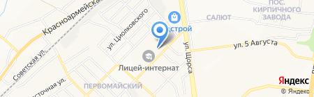 Кромтехстрой на карте Белгорода