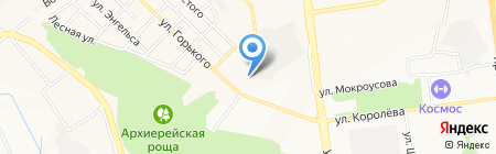 Участковый пункт полиции №8 на карте Белгорода