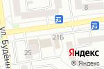 Схема проезда до компании Русич-ТВН в Белгороде
