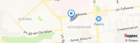 Детский сад №35 на карте Белгорода