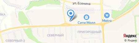 Флагман на карте Белгорода