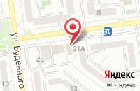 Схема проезда до компании Ателье окон в Белгороде