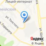 Bellezza на карте Белгорода