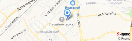 Ирина на карте Белгорода