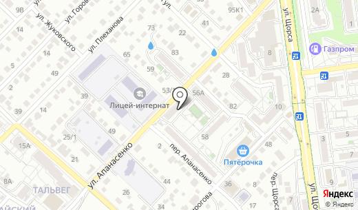 Продуктовый магазин. Схема проезда в Белгороде