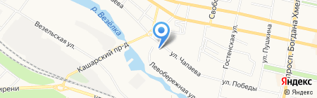 Камбел-Строй на карте Белгорода