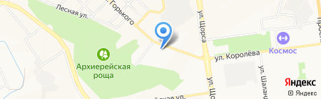 Хайвтек на карте Белгорода