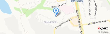 Мастерская по изготовлению ключей и ремонту обуви на карте Белгорода
