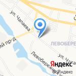Авто-сова на карте Белгорода