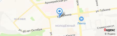 ДАМА ХОЗЯЙКА на карте Белгорода