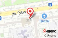 Схема проезда до компании Модная тема в Белгороде
