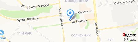 Хлеб на карте Белгорода
