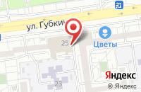 Схема проезда до компании Букватория в Белгороде
