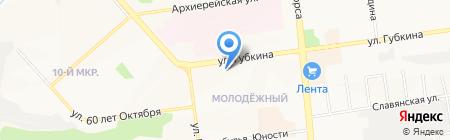 Золотой Ключ на карте Белгорода