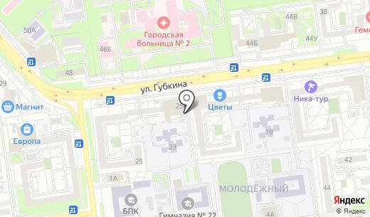 Ломбард. Схема проезда в Белгороде