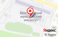 Схема проезда до компании Компания грузоперевозок и изготовлению мебели в Белгороде