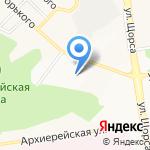 Компания по изготовлению мебели на карте Белгорода