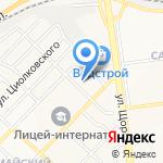 Офицер на карте Белгорода