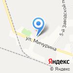 Бисма на карте Белгорода