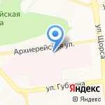 Городская больница №2 на карте Белгорода