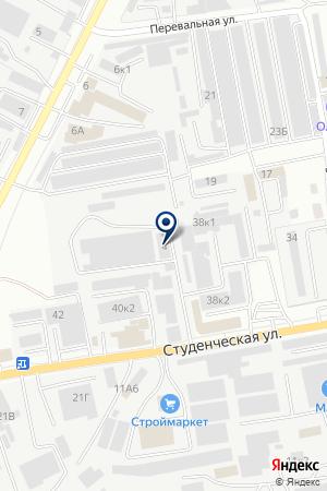 ТСЦ КАМАЗ-СЕРВИС на карте Белгорода