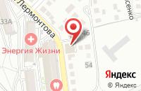 Схема проезда до компании СтандартЦемент в Белгороде
