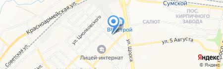 Русская на карте Белгорода