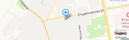 Центр Автомобильных Перевозок на карте Белгорода