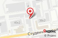 Схема проезда до компании Витраж Сервис в Белгороде