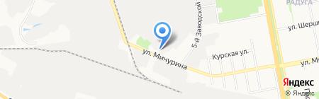 Белтранстрейд на карте Белгорода
