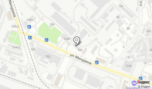 Белгородстройдеталь-Заказчик. Схема проезда в Белгороде