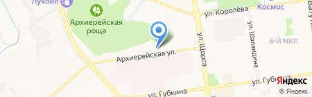 Церковь Введения во храм Пресвятой Богородицы на карте Белгорода
