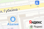 Схема проезда до компании Звездный в Белгороде