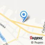 Шашлычок на карте Белгорода