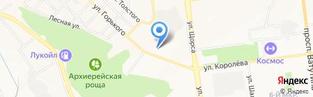 Белгородский юридический институт МВД России на карте Белгорода