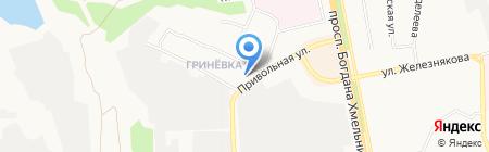 Ольга на карте Белгорода