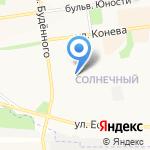 Виталити Джим на карте Белгорода